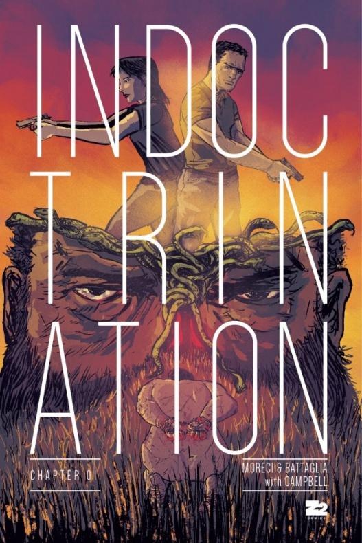 Indoctrination portada comic