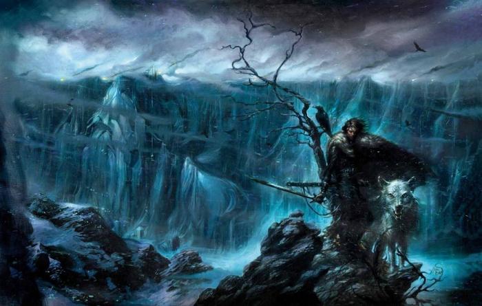 Jon-Snow-and-Ghost-jon-nieve-Corominas