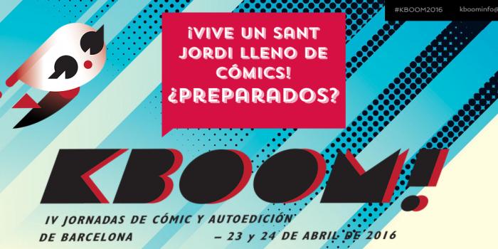 Las jornadas KBOOM! de cómic y autoedición