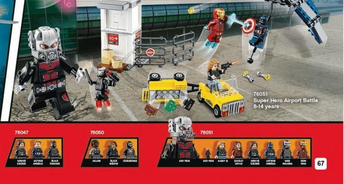 Lego Civil War Giant Man