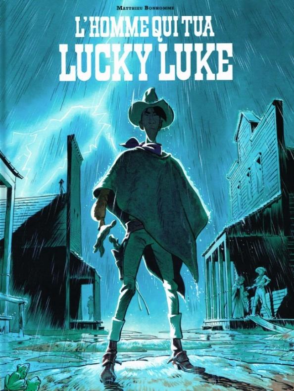 Lucky Luke Cubierta