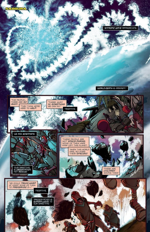 Micronauts Página interior (2)