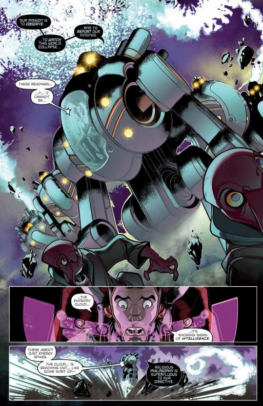 Micronauts Página interior (3)