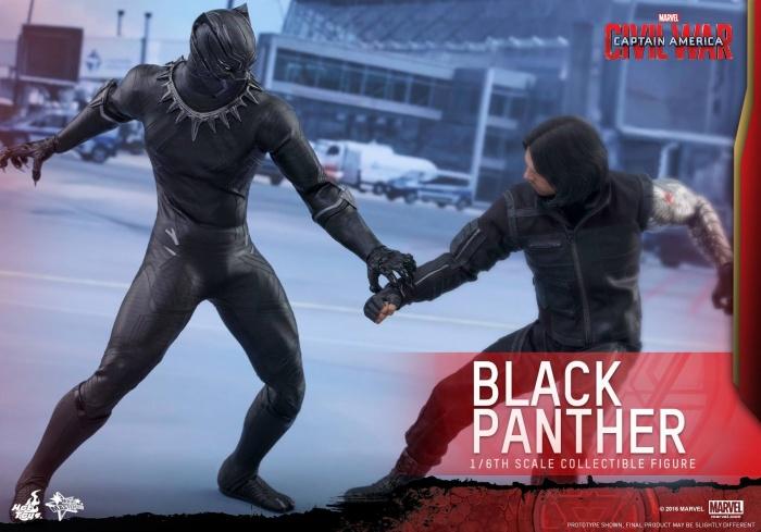 Pantera Negra Hot Toys 10
