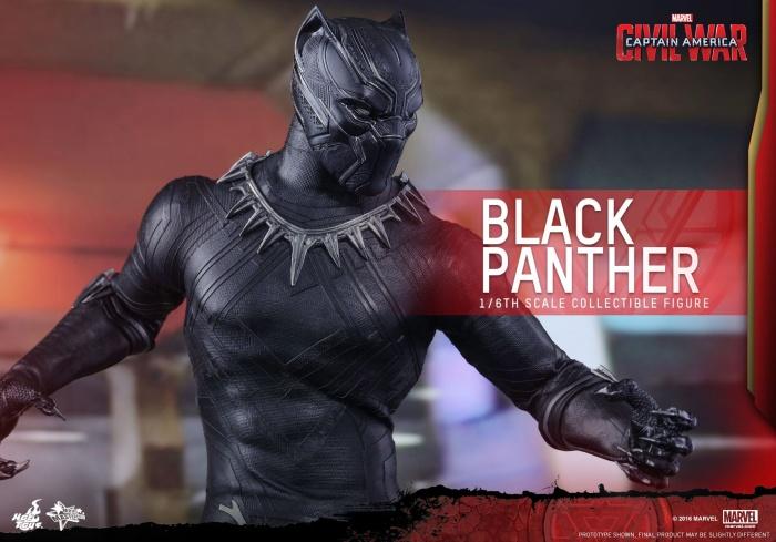 Pantera Negra Hot Toys 11