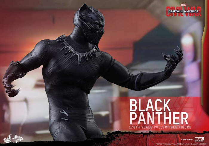 Pantera Negra Hot Toys 12