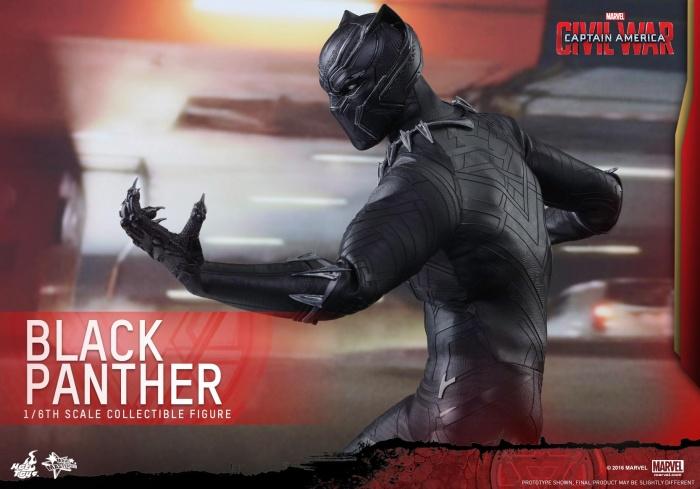 Pantera Negra Hot Toys 13