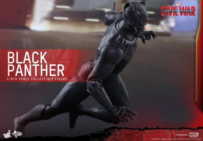 Pantera Negra Hot Toys 2