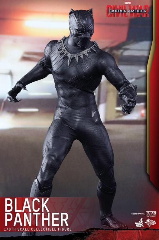 Pantera Negra Hot Toys 6