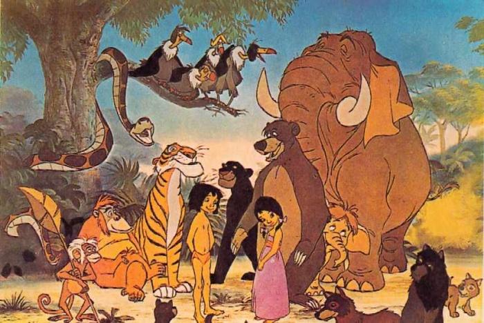 Personajes-de-el-Libro de la selva