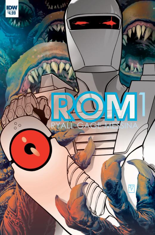 ROM #1, portada de J. H. Williams III