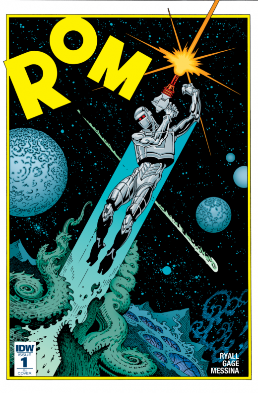 ROM #1, portada de P. Craig Russell