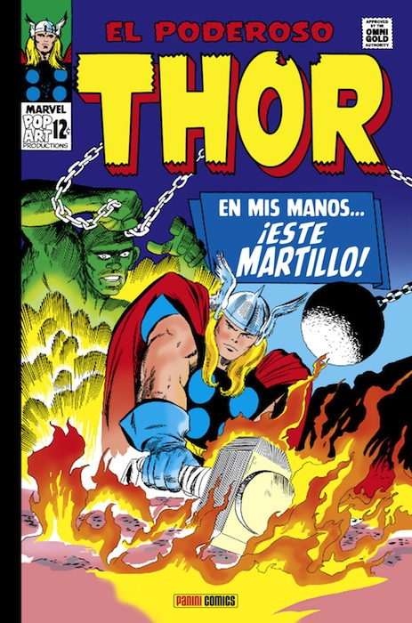 Reseña de Marvel Gold El Poderoso Thor En mis manos este martillo 2
