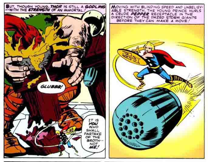 Reseña de Marvel Gold El Poderoso Thor En mis manos este martillo 3