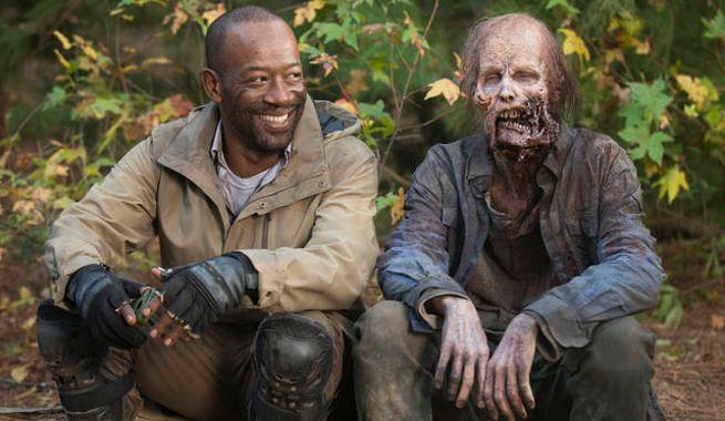The Walking Dead - rodaje