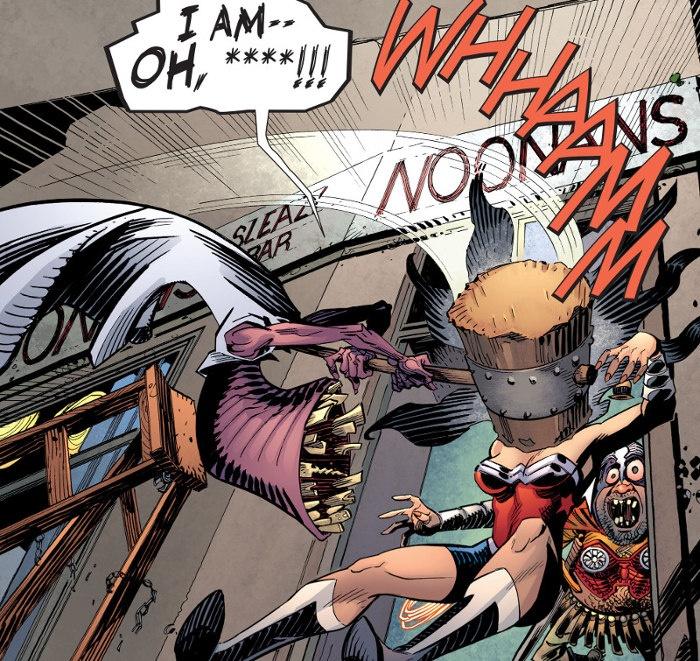 Wonder Woman conoce a Baytor