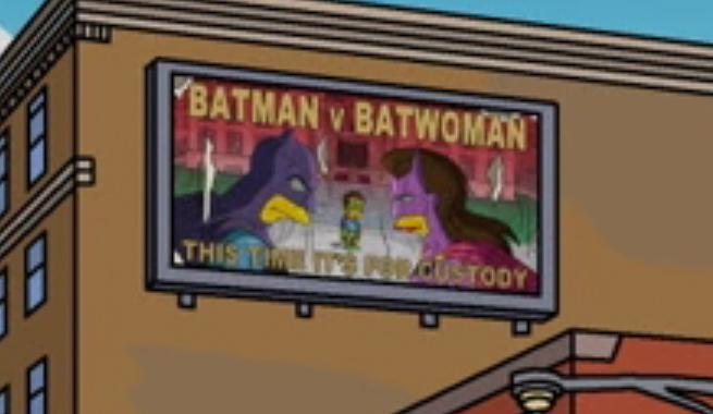 Los Simpsons Batman v Superman huevo de pascua 02