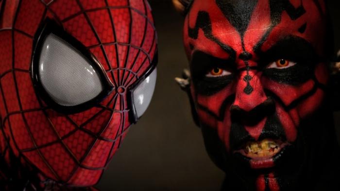 Spiderman Darth Maul