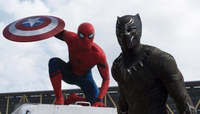 Spiderman Pantera Negra Civil War