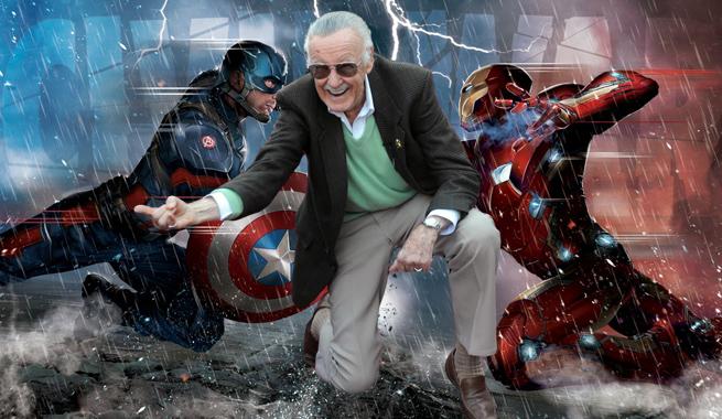 Stan Lee elige bando Civil War