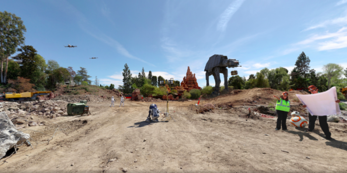 Star-Wars Disneyland 360