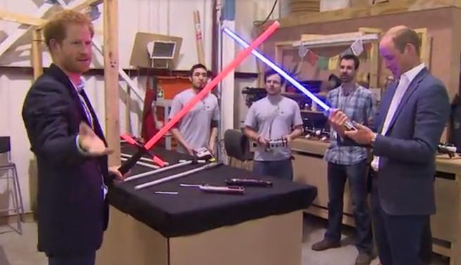 Star Wars VIII cameos William y Harry