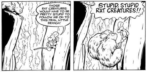 Stupid stupid rat creatures