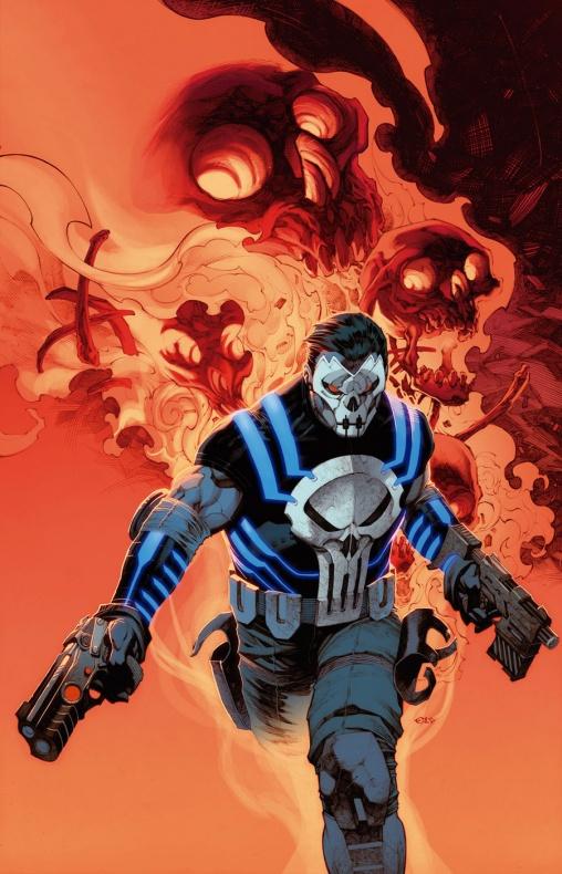 The-Punisher Portada alternativa Apocalypse Wars por Chris Stevens