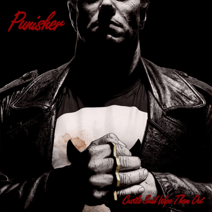 The-Punisher Portada alternativa hip hop de Tim Bradstreet