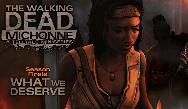 The Walking Dead Michonne What We Deserve