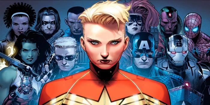 civil war 2 team captain marvel carol