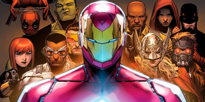 civil war 2 team iron man