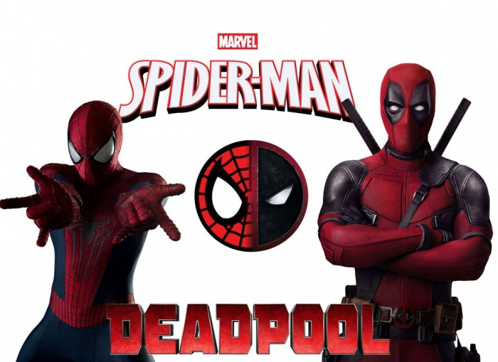 deadpool y spiderman