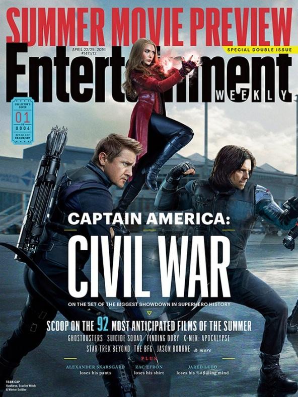 entertainment weekly capitan america civil war 1