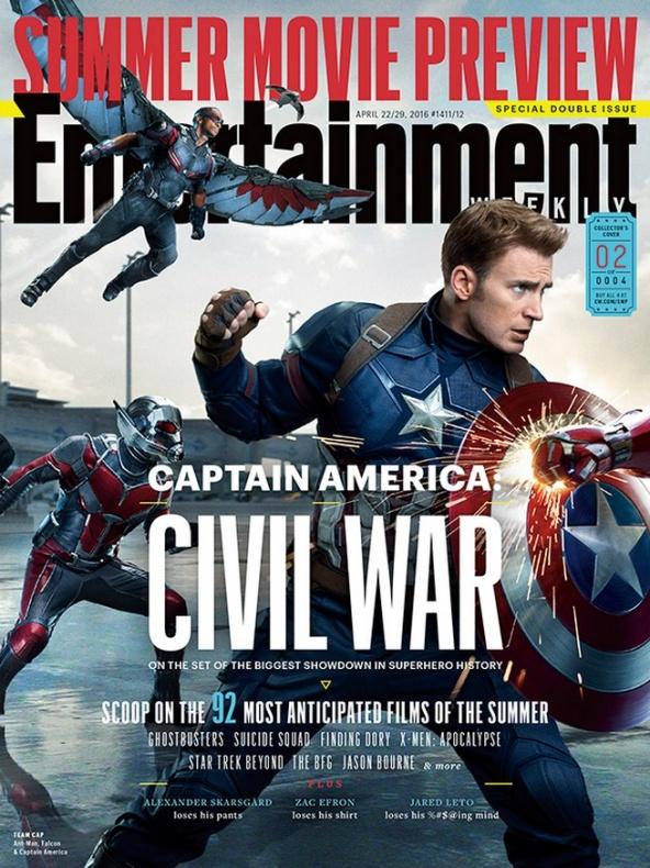 entertainment weekly capitan america civil war 2