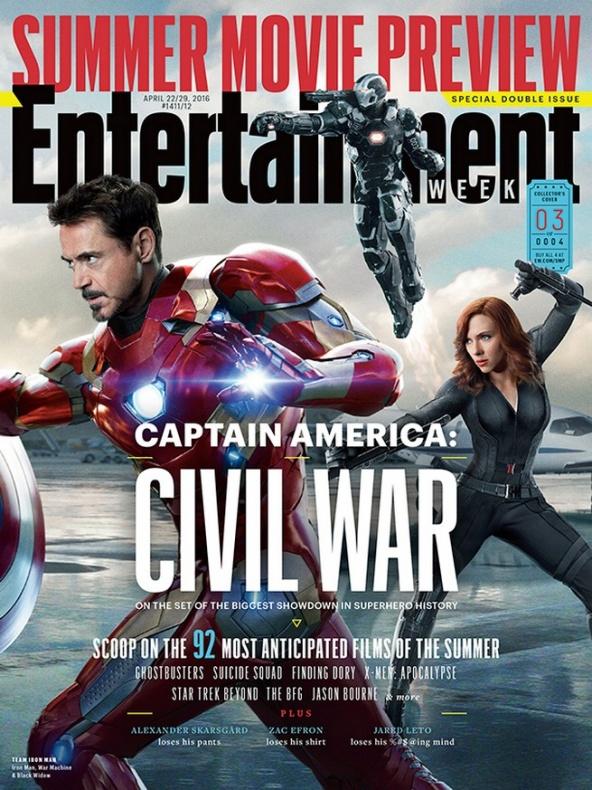 entertainment weekly capitan america civil war 3