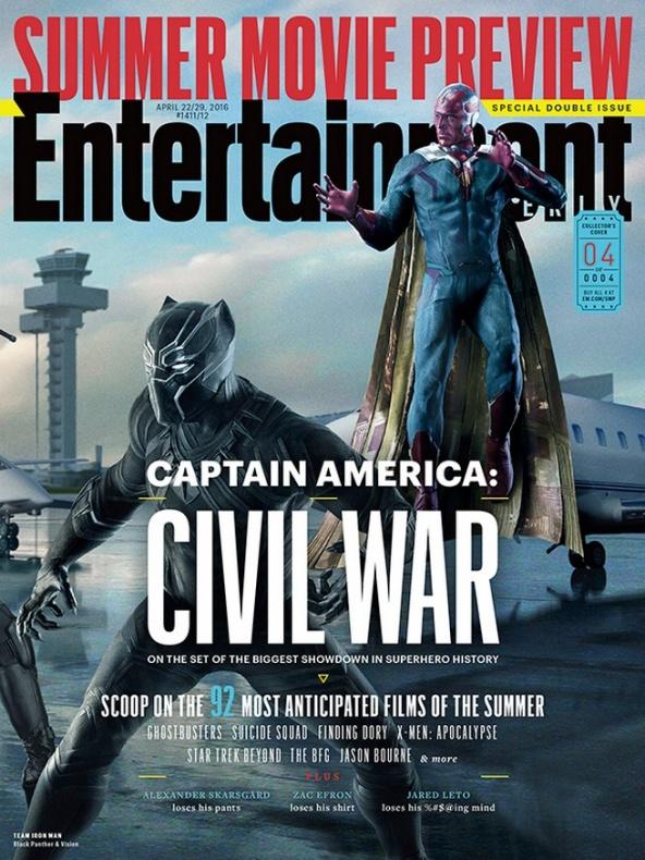 entertainment weekly capitan america civil war 4