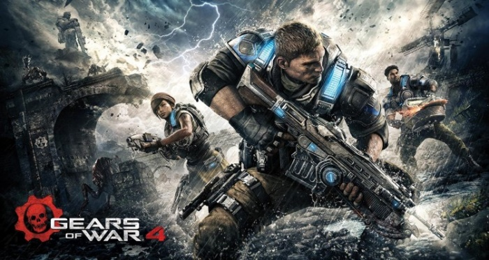 gears of war 4 ilustracion portada