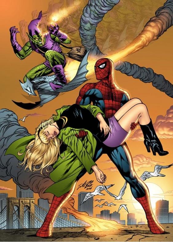 gwen-stacy-muerte-spiderman-duende-verde