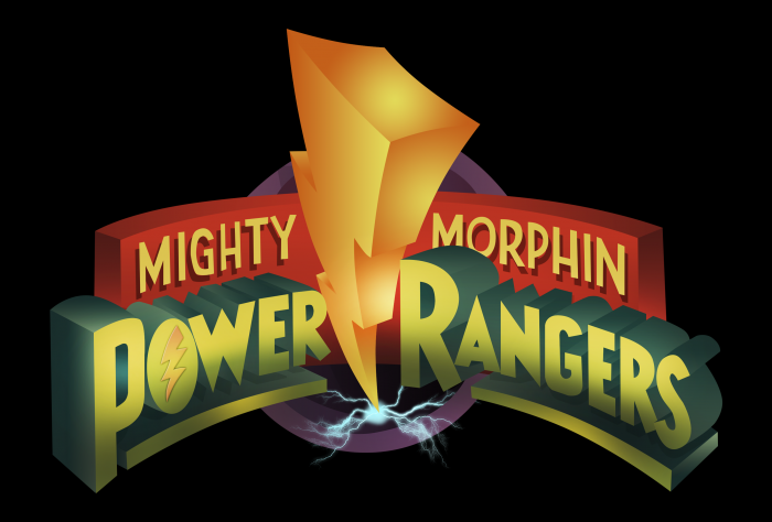 mighty morphn power rangers logo hd by martyntranter d604atc