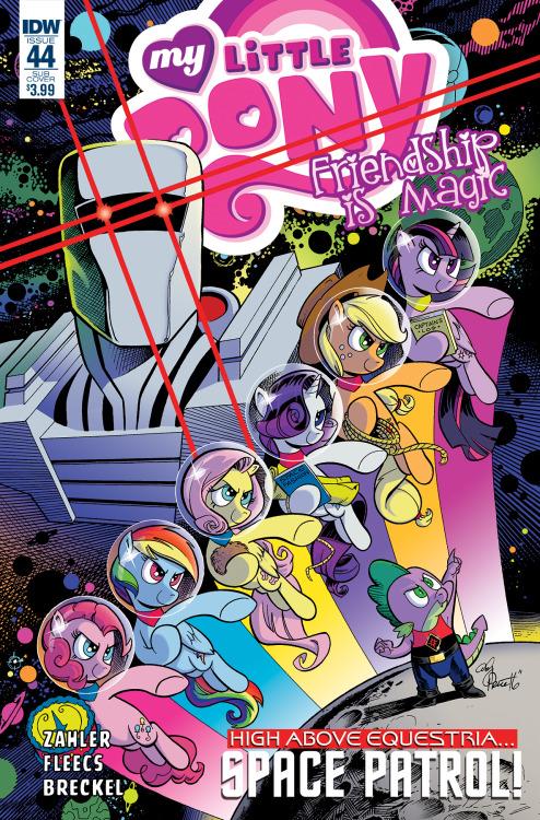 My Little Pony #44, portada de Andy Price