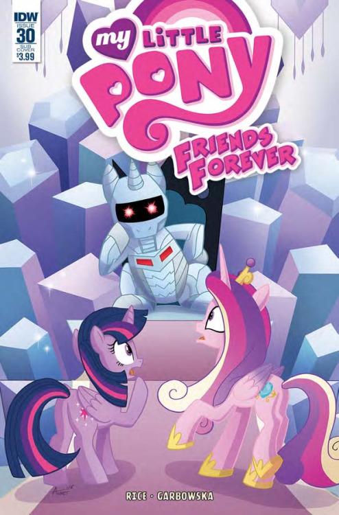 My Little Pony: Friends Forever #30, portada de Agnes Garbowska
