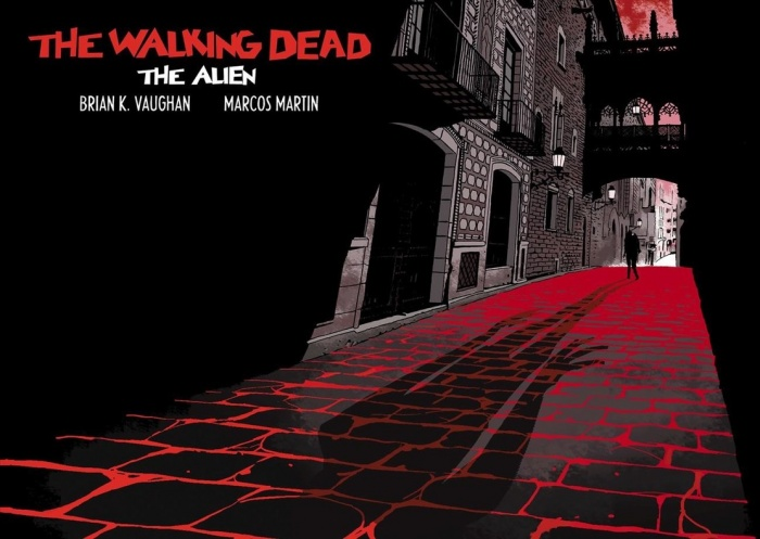 portada del comic the walking dead the alien por brian vaughan dibujante espanol marcos martin 1461175177538