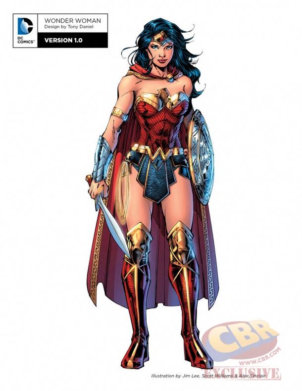 Wonder Woman Rebirth