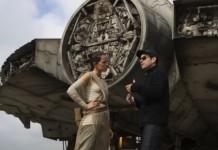 J.J. Abrams y Daisy Ridley