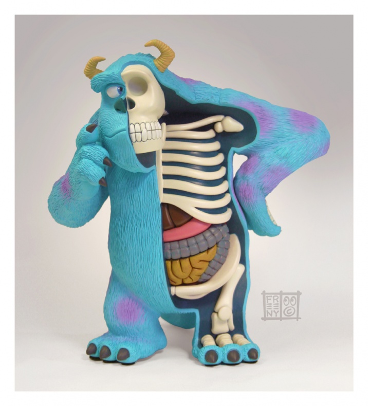 sulley dissected by freeny d6w8jzl