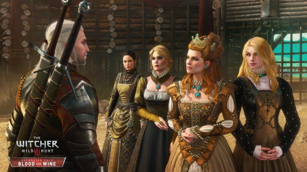 the witcher 3 wild hunt blood and wine anna henrietta and her entourage rgb en 0