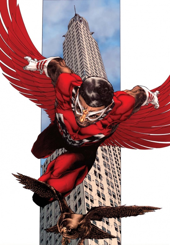 Halcón Marvel