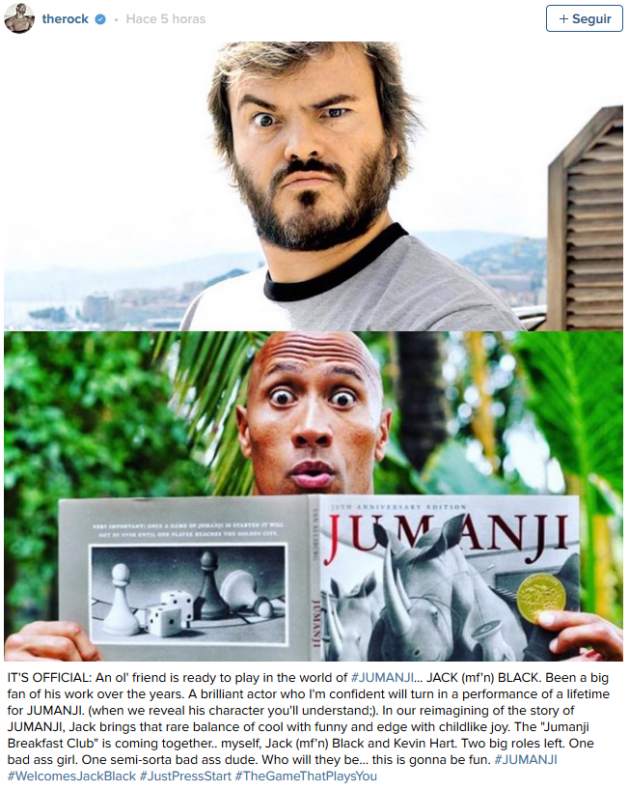 2016-05-12 05_30_43-Jack Black Joins The Rock in 'Jumanji' Remake - Hollywood Reporter