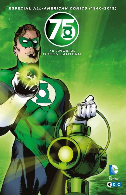 75 anos de Green Lantern ecc ediciones